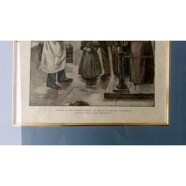 National Capitol Sketches in Washington, DC, 1892 For Sale - Image 7 of 7