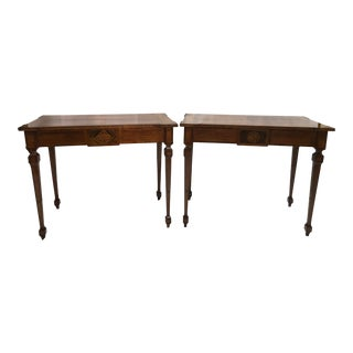 Mid 19th Century Antique Louis XVI Style Desks - A Pair For Sale