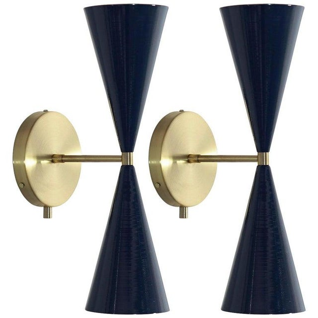 """Tuxedo"" Wall Sconces For Sale - Image 13 of 13"