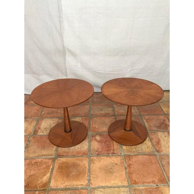 Kipp Stewart Walnut Side Table - Image 2 of 8