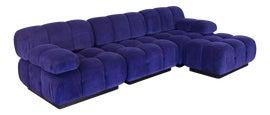 Image of Blue Standard Sofas