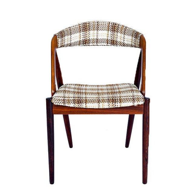 Set Of 6 Rosewood Kai Kristiansen Dining Chairs - Image 2 of 10