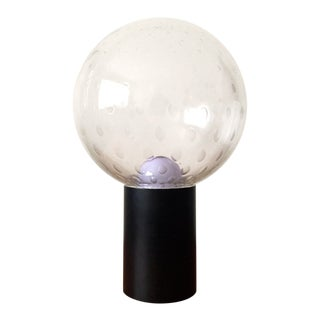 Raak Large Bubble Glass Globe Table Lamp, 1970s For Sale