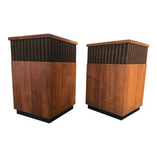 Vintage Mid-Century Harmon Kardon Hk-50 Omni-Directional Speakers - A Pair For Sale
