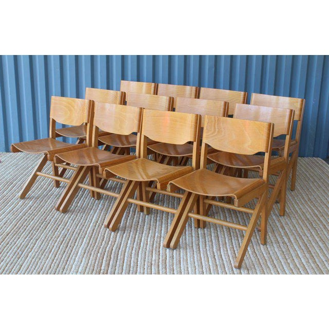 Bentwood Dining Chairs by Joamin Baumann, France, 1960s For Sale - Image 7 of 13