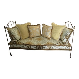 Vintage Iron Single Daybed For Sale