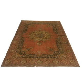 Distressed Semi-Antique Kayseri Carpet | 6'7 X 9'5