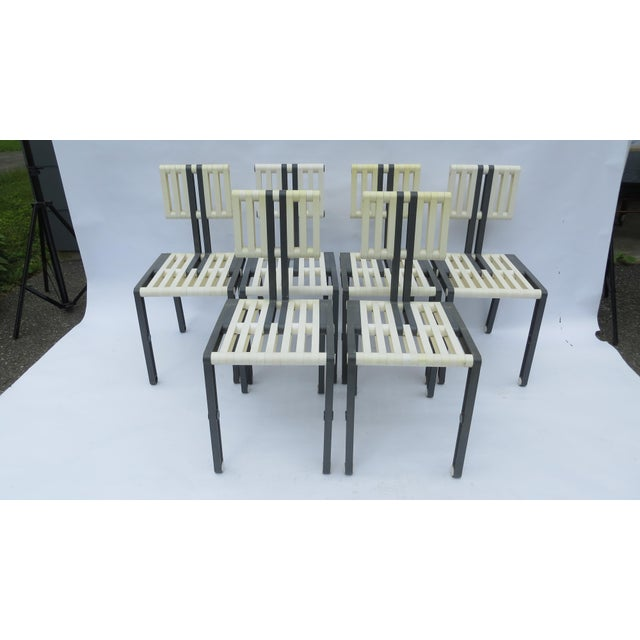 Vintage Italian Chairs - Set of 6 For Sale - Image 11 of 11