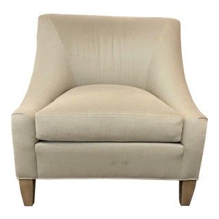 Transitional Abilgail Slipper Chair For Sale