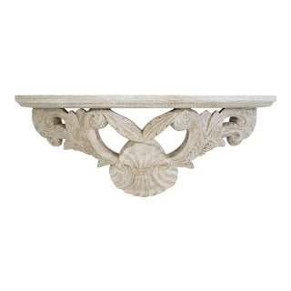 French Acanthus Carved Shelf For Sale
