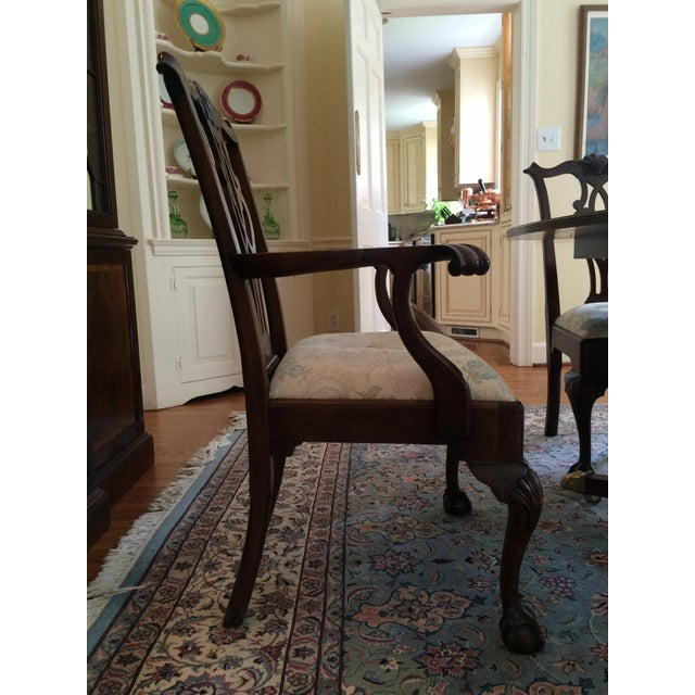 Stickley Mahogany Dining Chair Set - 8 - Image 3 of 9