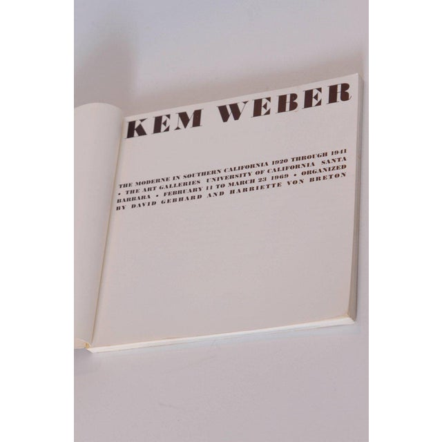 Paper KEM Weber the Moderne in Southern California, 1920-1941 Monograph with Ephemera For Sale - Image 7 of 11