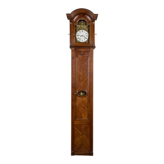 French Horloge De Parquet or Tall Case Clock For Sale