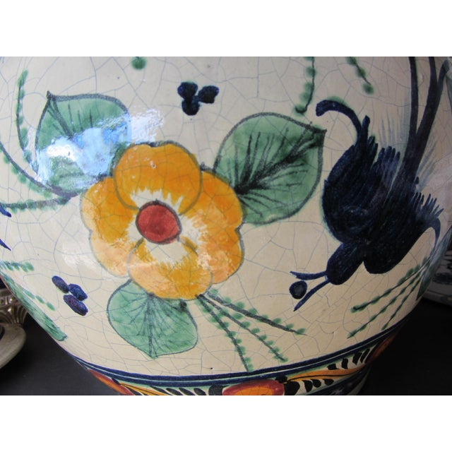 Mexican Pottery Decorative Jar - Image 7 of 9