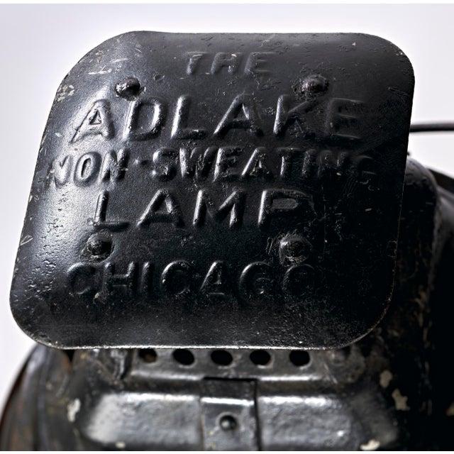 Three Lens Adlake Railroad Switching Lantern/Light For Sale - Image 11 of 12