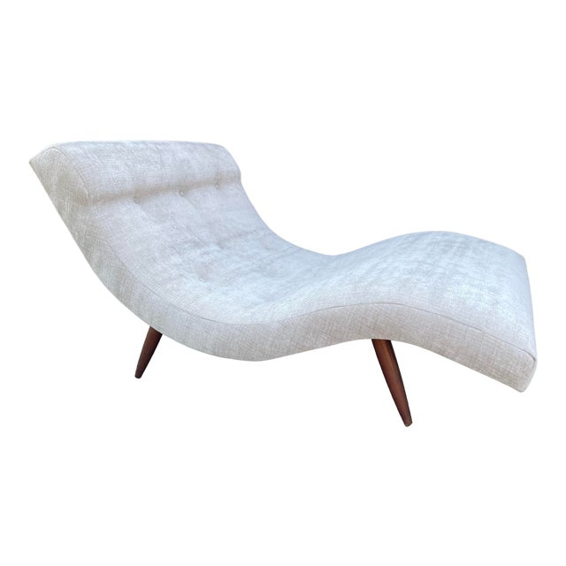 Vintage Adrian Pearsall for Craft Associates Wave Lounge For Sale