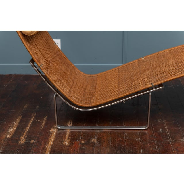 Brown Poul Kjaerholm PK24 Chaise Lounge For Sale - Image 8 of 13