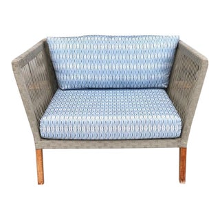 Custom Outdoor Willow Loveseat For Sale