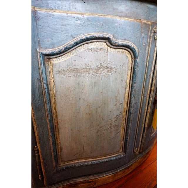 18th Century Italian Painted Credenza For Sale - Image 4 of 10