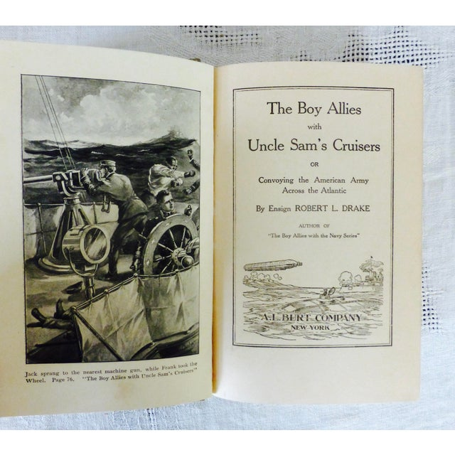 Collection of Antique Boys' Books - Set of 4 - Image 3 of 10