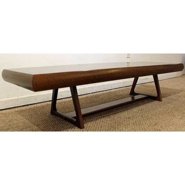 Mid-Century Danish Modern Adrian Pearsall Style Walnut Coffee Table - Image 3 of 11