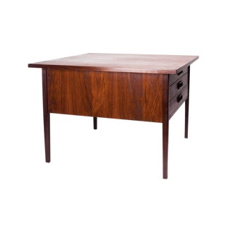 Mid Century Coffee Table by Jens Risom with Three Drawers 1950s