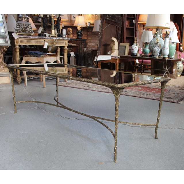 Maison Bagues Style Bronze Cocktail Table - Image 3 of 6