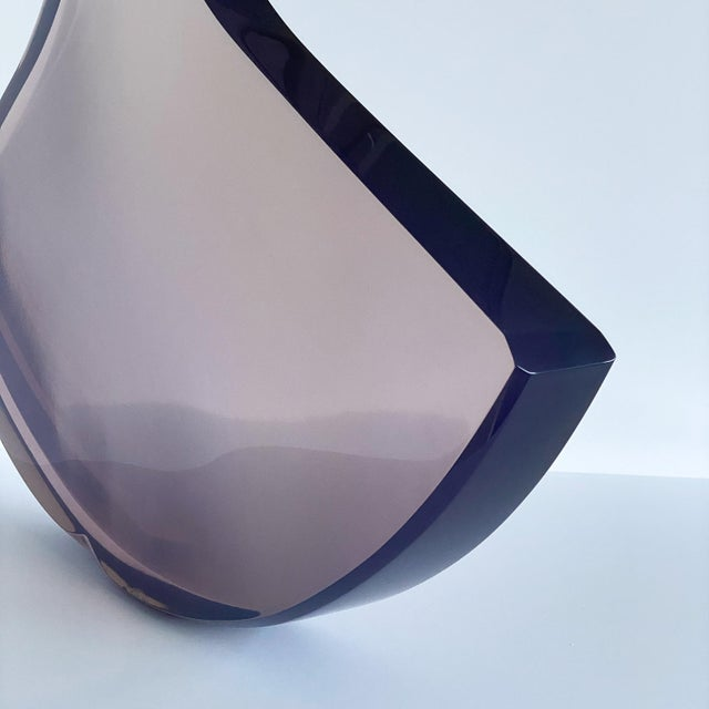 1970s Monumental Abstract Resin Sculpture by Ric Snead For Sale - Image 9 of 13
