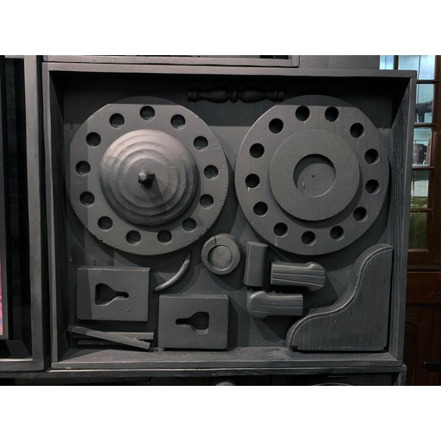 Gt Atelier Custom Tv Art Wall by the Golden Triangle Chicago For Sale - Image 9 of 13
