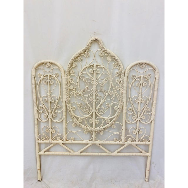 Adirondack Vintage Bohemian Butterfly Headboard For Sale - Image 3 of 9