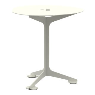 Jackson Cafe Table Triangle in Pearl For Sale