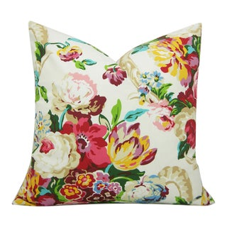 Floral Spring Bling Decorative Pillow Cover For Sale
