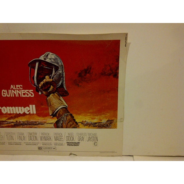 """Cromwell"" Vintage Movie Poster 1970 For Sale - Image 4 of 6"