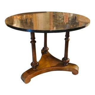 Marble Top Center Table For Sale