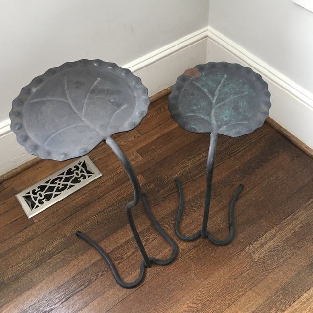 Salterini Lily Pad Nesting Tables - a Pair - Image 6 of 9