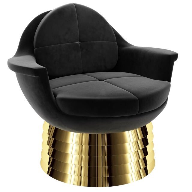 Iris Lounge Chair by Artist Troy Smith - Contemporary Design For Sale