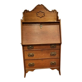 Vintage Mid-Century Secretary Desk