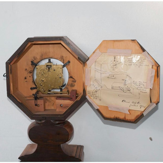 1950s F. Mauthe Granddaughter Clock For Sale - Image 5 of 6