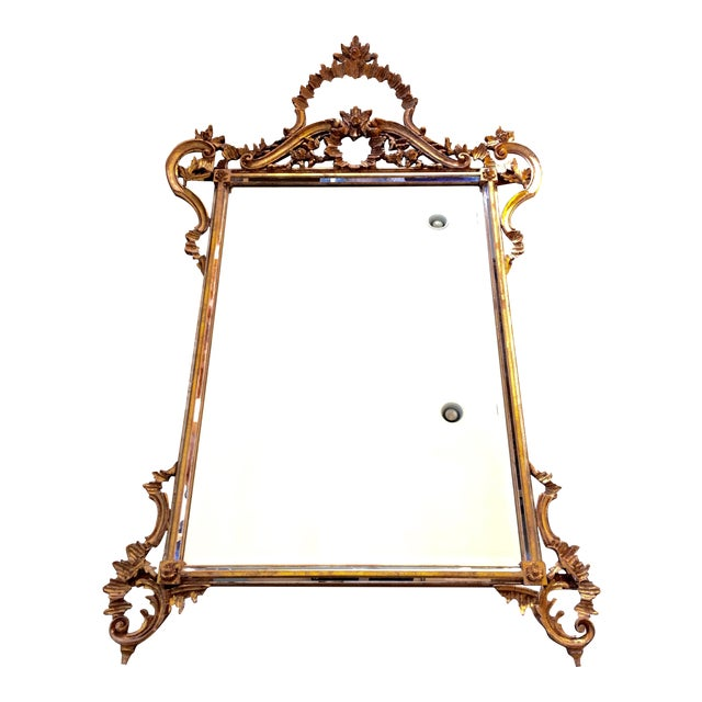 LaBarge Ornate Italian Giltwood Mirror - Image 1 of 9