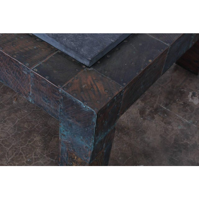 Large Patchwork Coffee Table by Paul Evans - Image 9 of 10