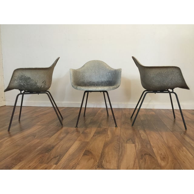 Eames Shell Arm Chairs - Set of 3 - Image 5 of 10