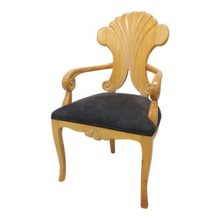 Biedermeier Style Arm Chair For Sale