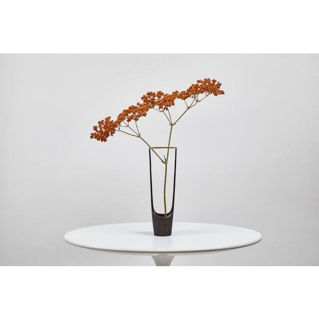 Carl Auböck Model #7228 Brass Vase Designed in the 1950s, this incredibly refined and sculptural Viennese vase is...
