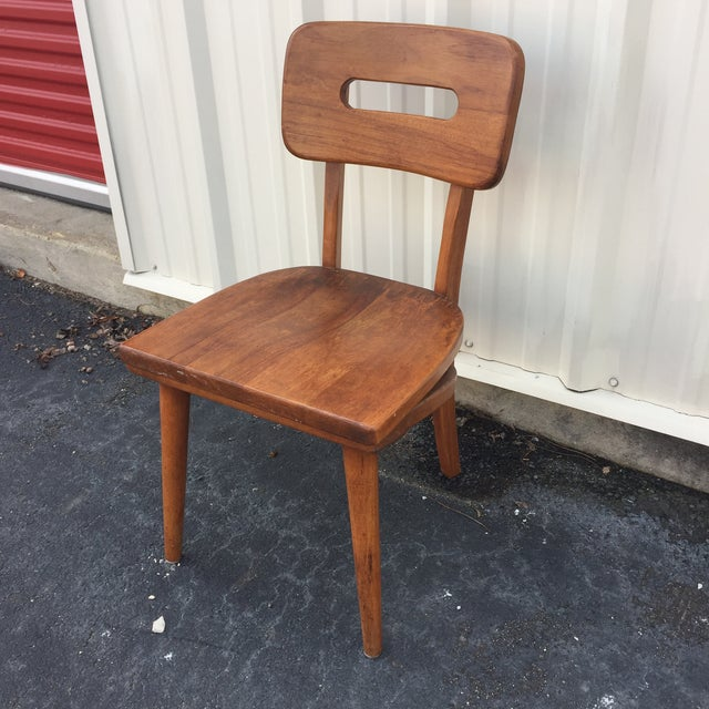Mid-Century Walnut Chair by Boling Chair Company - Image 7 of 9