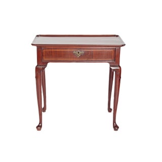 18th Century English George II Dressing Table in Walnut For Sale