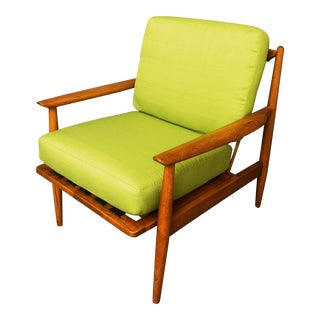 1960s Vintage Danish Armchair For Sale