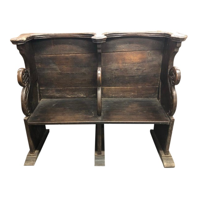 18th Century French Clergyman's Pew For Sale