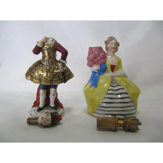 Miniature French Perfume Bottles - A Pair - Image 3 of 5