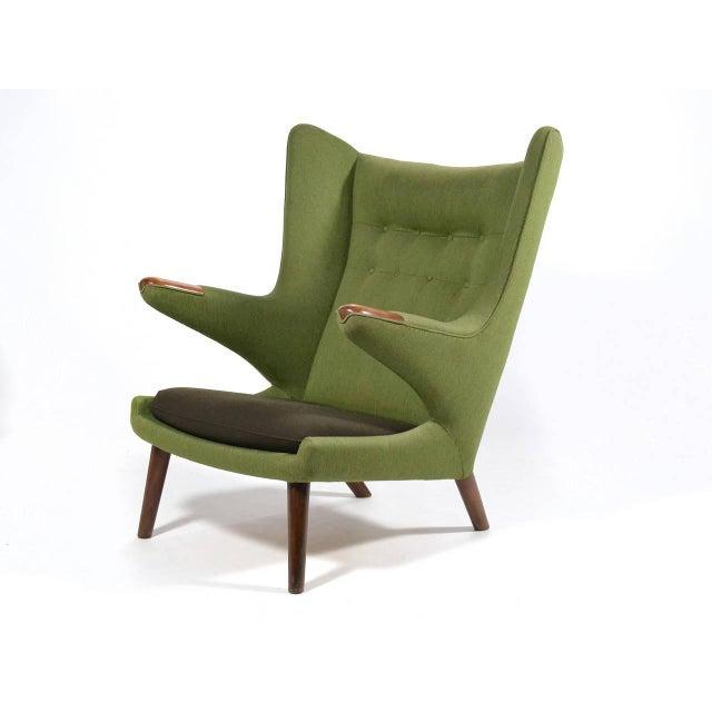1950s Hans Wegner Papa Bear Chair For Sale - Image 5 of 11