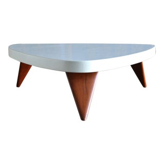Paul Frankl Cork Top Coffee Table for Johnson Furniture Circa 1955 For Sale